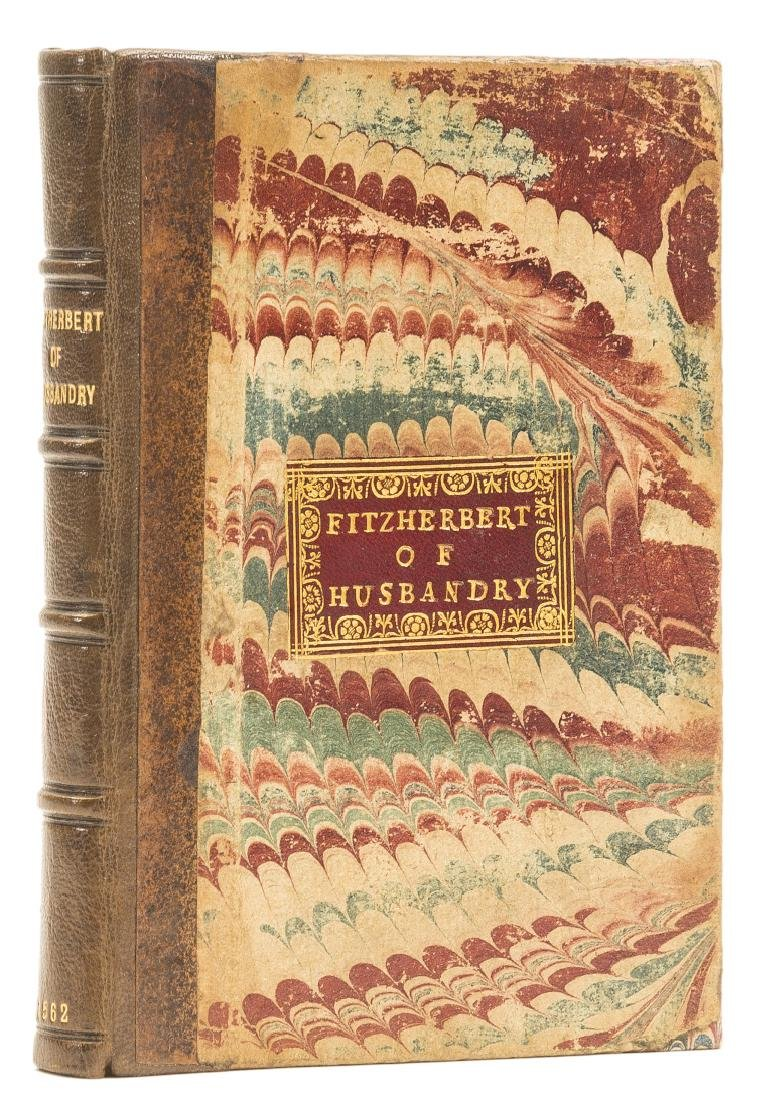 Fitzherbert (John) The booke of husbandrye, very - 3