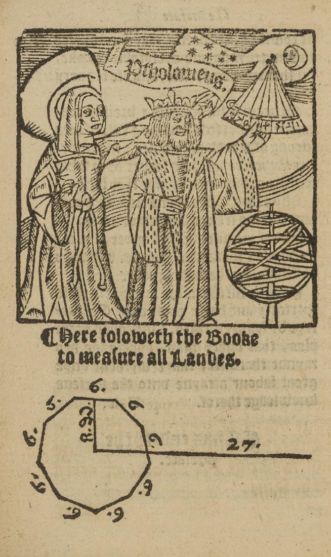 Surveying.- Benese (Richard) The Boke of measuryng of - 2