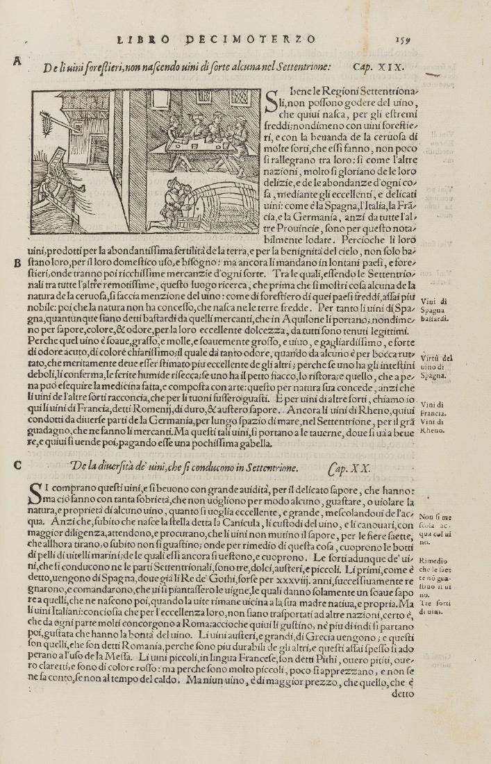 Magnus (Olaus) Historia delle genti et della natura