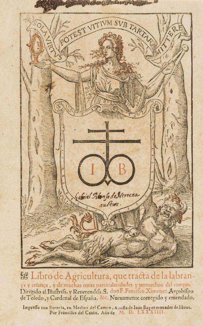 Alonso de Herrera (Gabriel) Libro de agricultura, que
