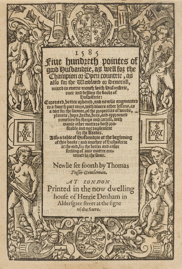 Tusser (Thomas) Five Hundreth pointes of good