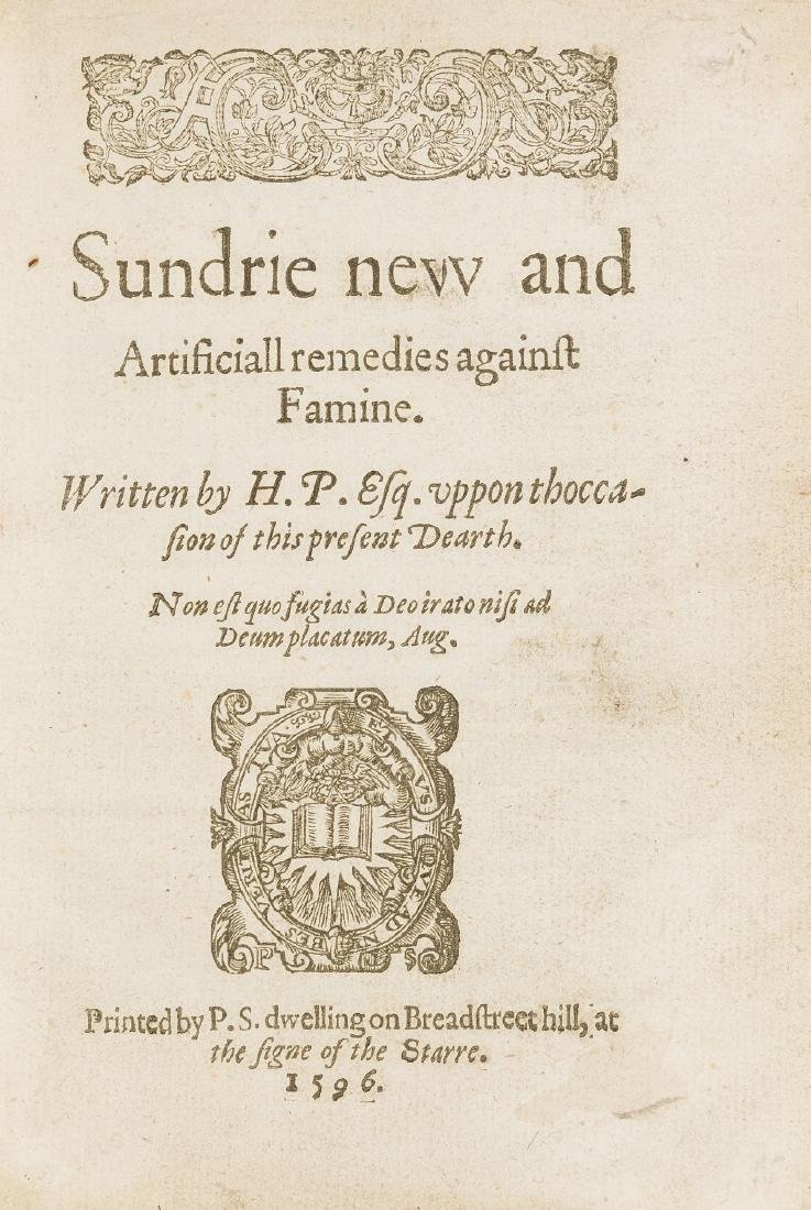 P[lat] (Sir H[ugh]) Sundrie new and artificiall