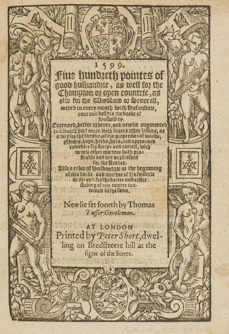 Tusser (Thomas) Five hundreth pointes of good - 3