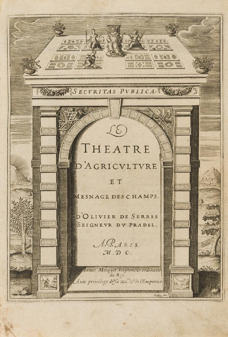Serres (Olivier de, Seigneur du Pradel) Le Theatre