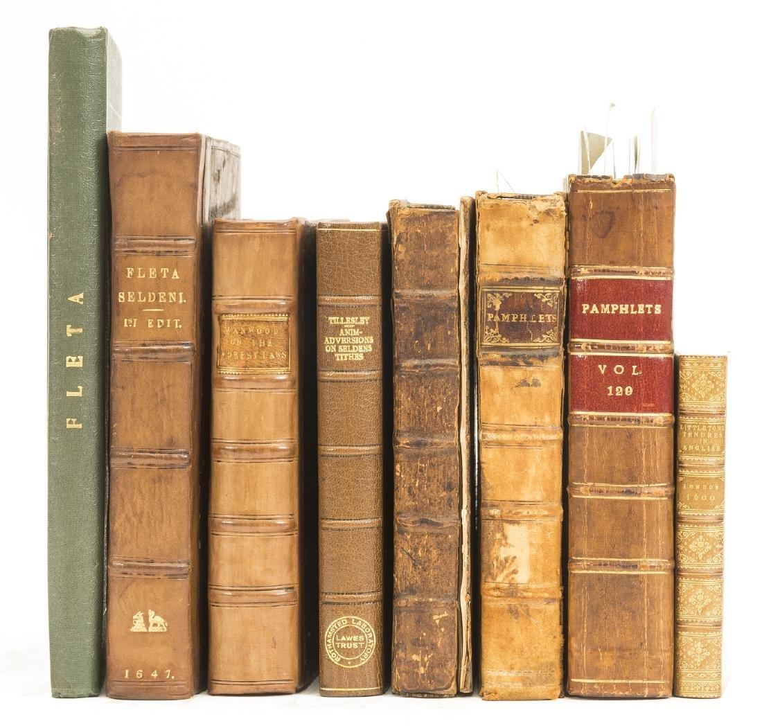 Law.- Littleton (Thomas) Tenures in English, Imprinted - 2
