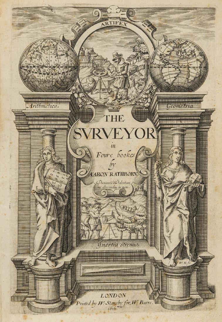 Surveying.- Rathborne (Aaron) The Surveyor in Foure