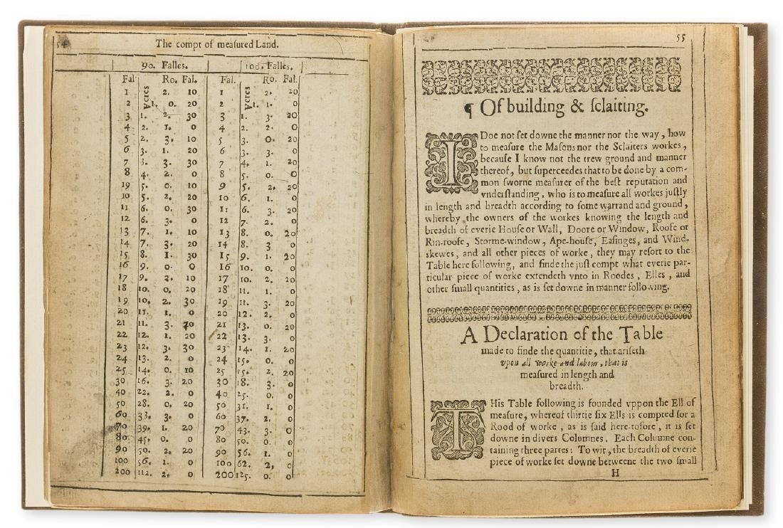 Surveying.- Huntar (Alexander) A Treatise, of Weights, - 2