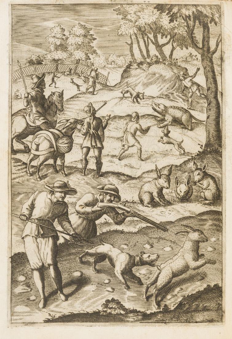 Raimondi (Eugenio) Delle caccie, libri quattro