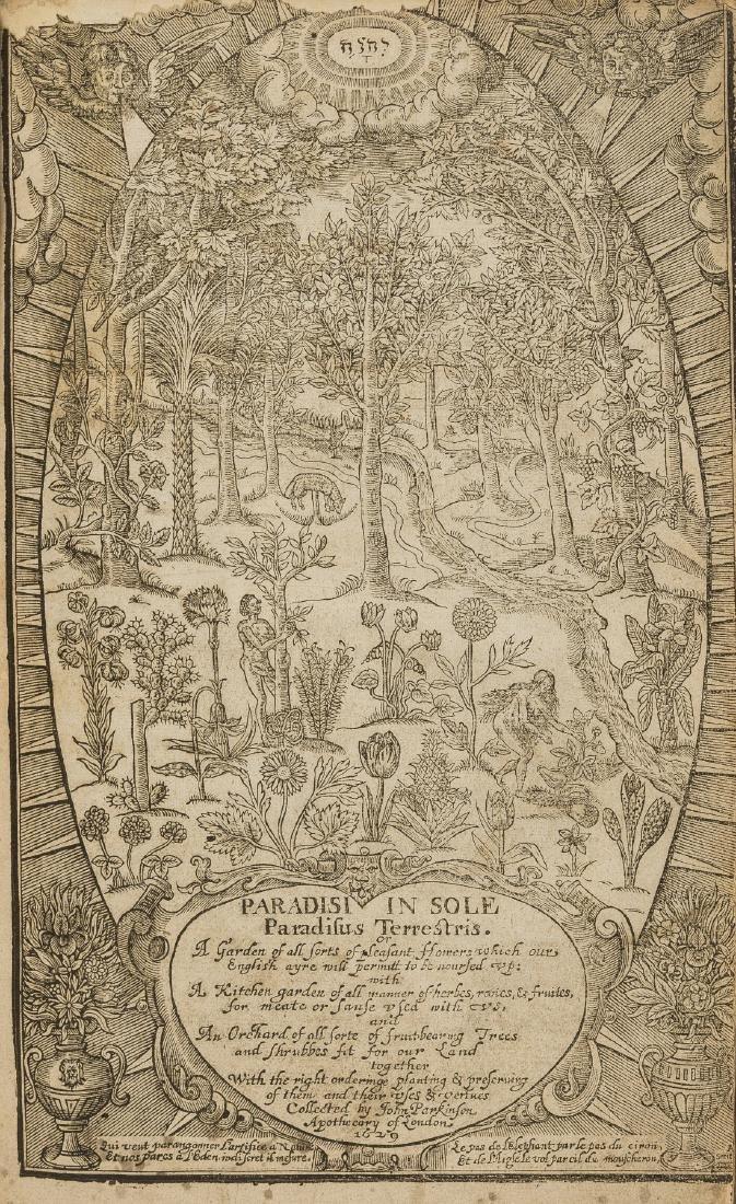 Parkinson (John) Paradisi in Sole Paradisus Terrestris,