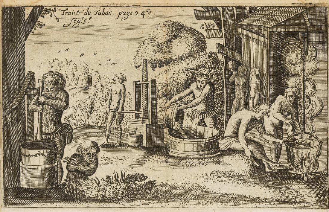 Tobacco.- Neander (Jean) Traicté du Tabac, ou