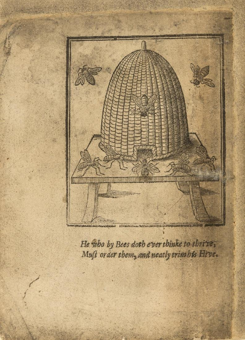 Bees.- Levett (John) The ordering of Bees: or, the True