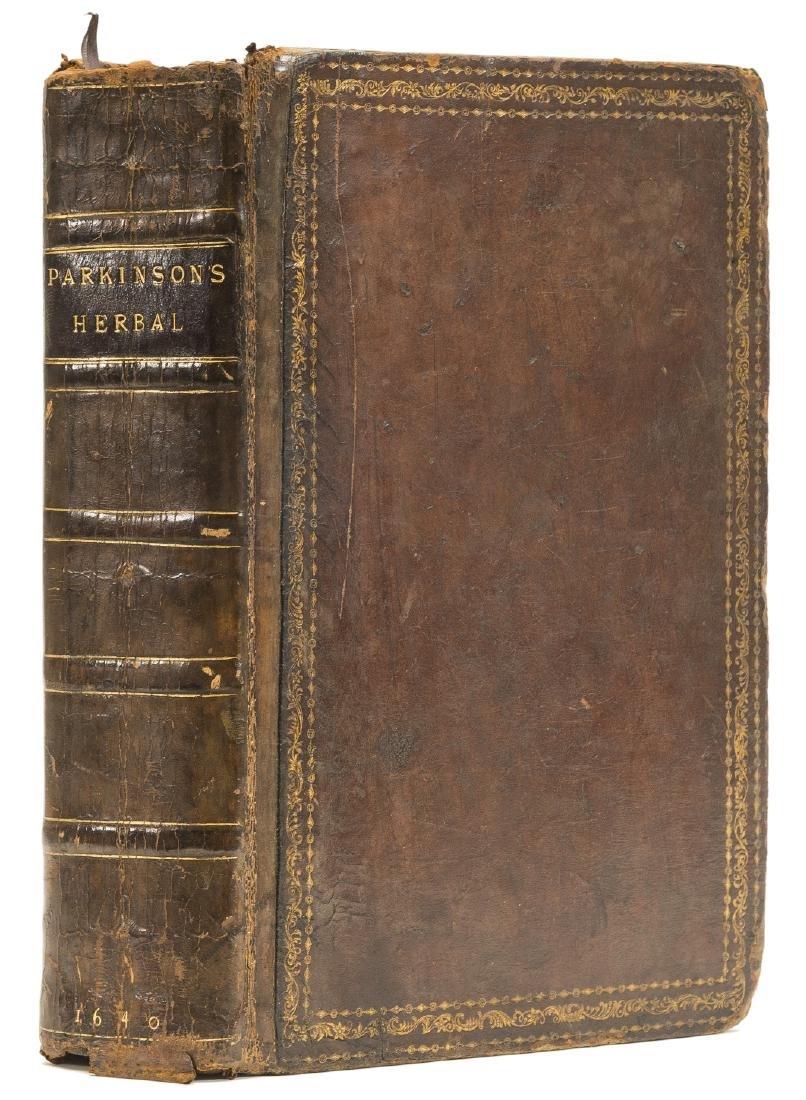 Herbal.- Parkinson (John) Theatrum Botanicum, The