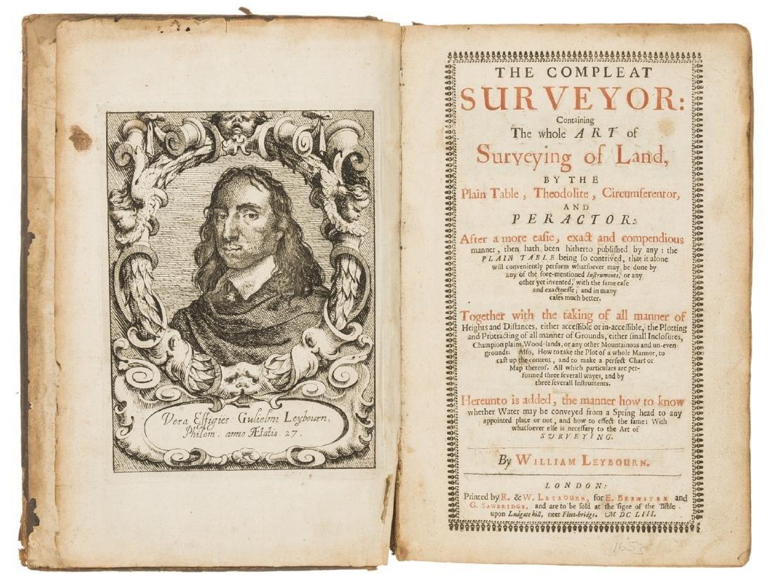 Surveying.- Leybourn (William) The Compleat Surveyor: