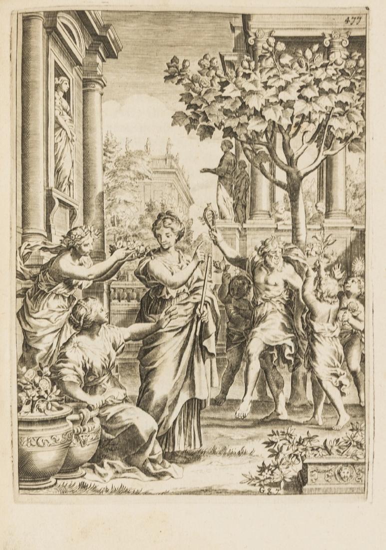 Gardens.- Ferrari (Giovanni Battista) Flora, seu de