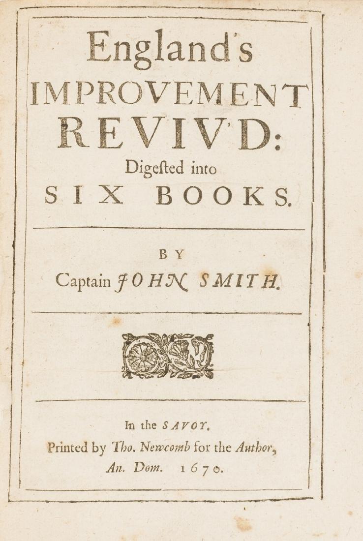Smith  (Captain John) England's Improvement Reviv'd,