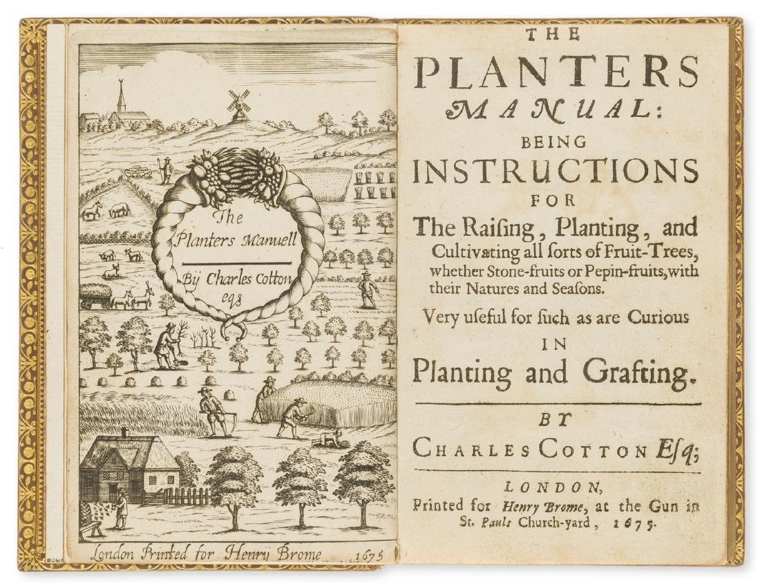 Cotton (Charles) The Planters Manual: being