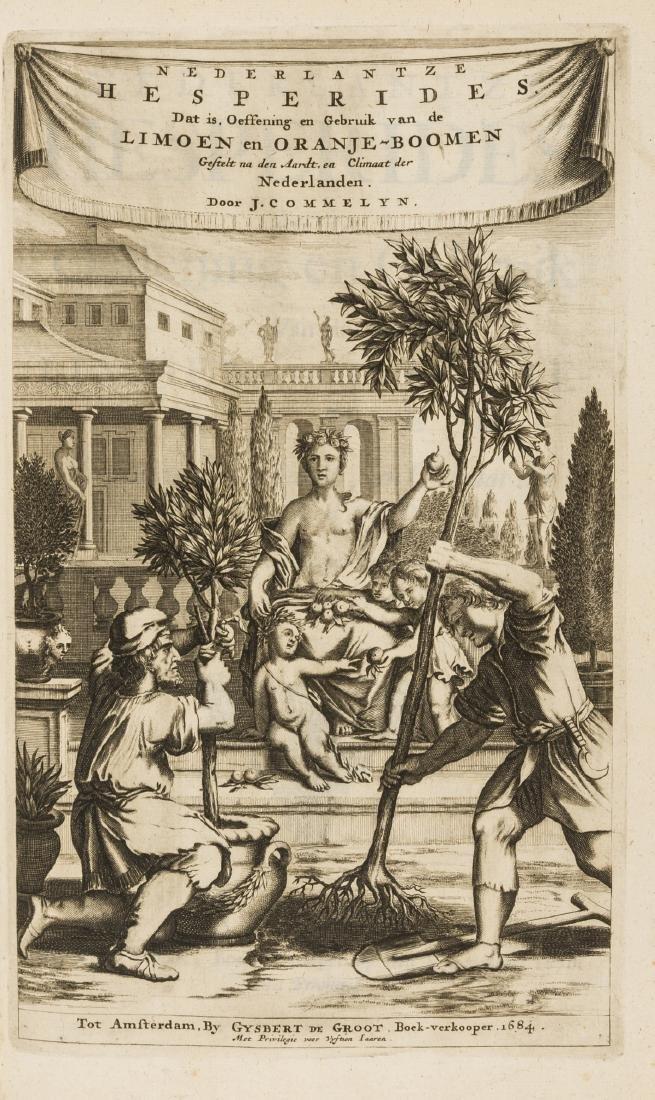 Gardens.- Cause (Hendrik) De Koninglycke Hovenier