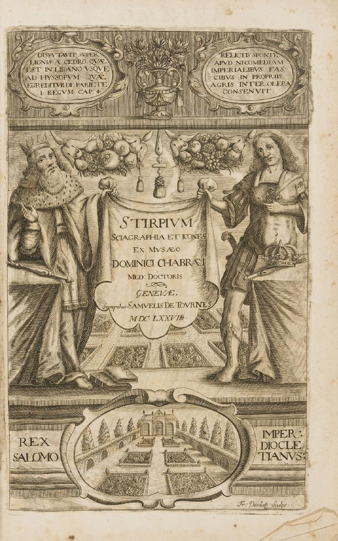 Herbal.- Chabraeus (Dominicus) Omnium Stirpium