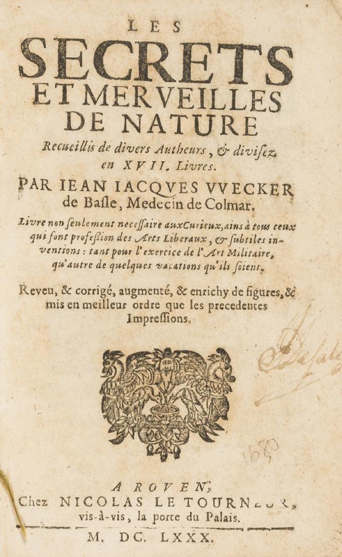 Wecker (Jean Jacques) Les Secrets et merveilles de