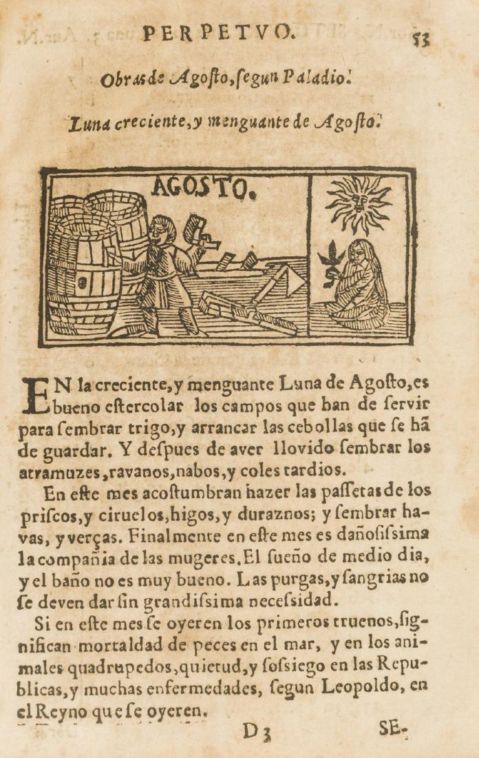 Spanish almanac.- Cortes (Geronimo) El Non Plus Ultra