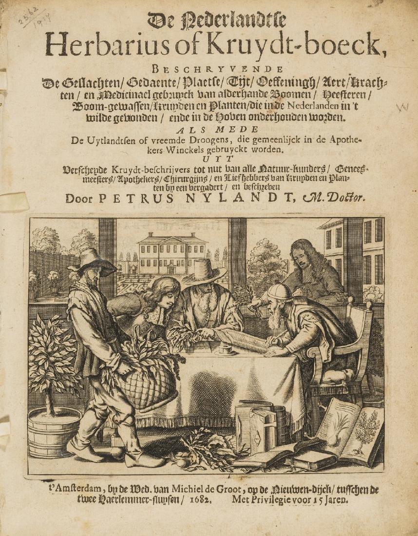 Herbal.- Nylandt (Pieter) De Nederlandtsche Herbarius
