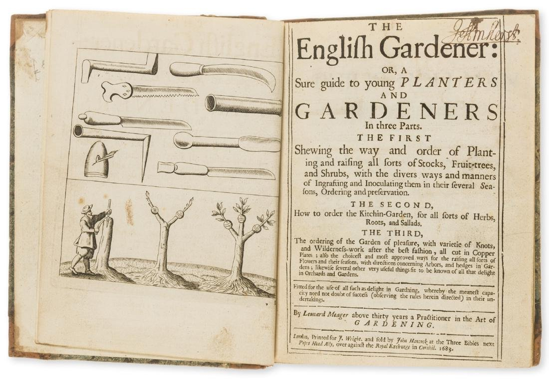 Gardens.- Meager (Leonard) The English Gardener: or, a