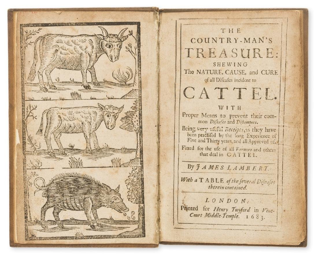 Lambert (James) The Country-Man's Treasure, Printed for