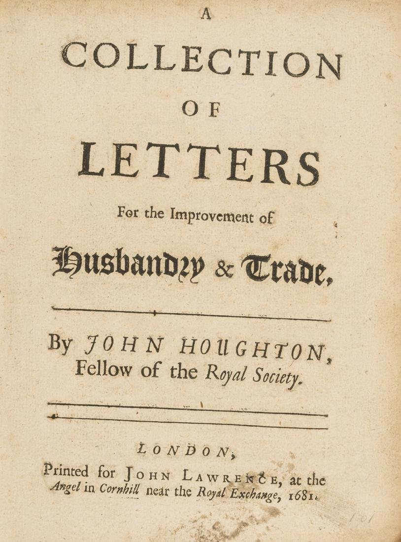 Periodical.- Houghton (John) A Collection of Letters