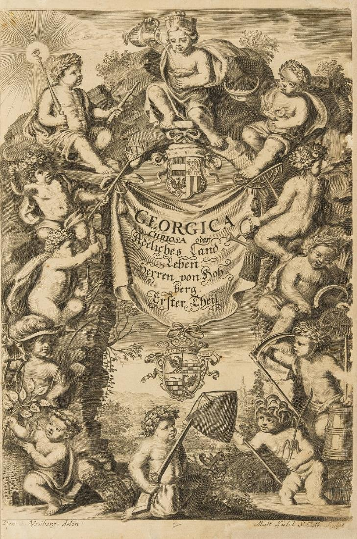 Hohberg (Wolfgang Helmhard von) Georgica Curiosa, 2