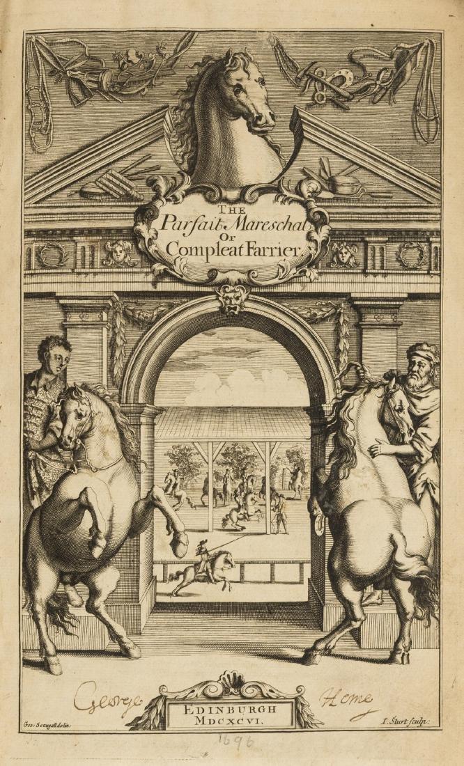 Horses.- Solleysel (Jacques de) The Parfait Mareschal,