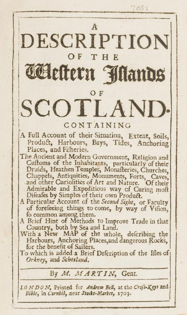 Scotland.- Martin (Martin) A Description of the Western