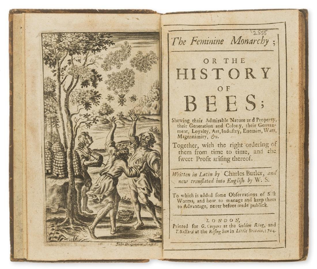 Bees.- Butler (Rev. Charles) The Feminine Monarchy, or