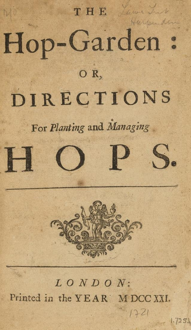 Hops.-  Hop-Garden (The): or, Directions for Planting