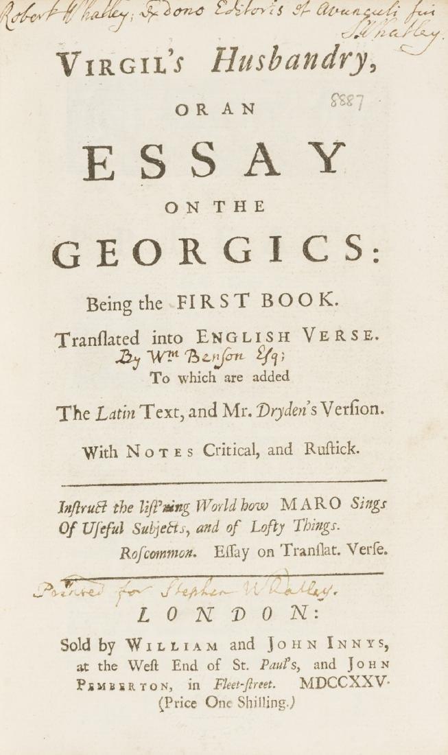 Editor's copy.- Virgilius Maro (Publius)  Virgil's