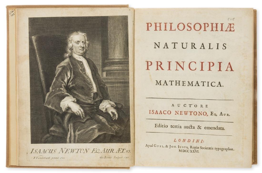 Newton (Isaac) Philosophiae Naturalis Principia
