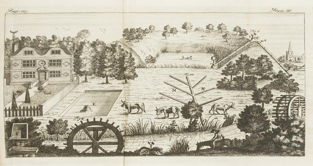 Bradley (Richard) A Complete Body of Husbandry, 1727;
