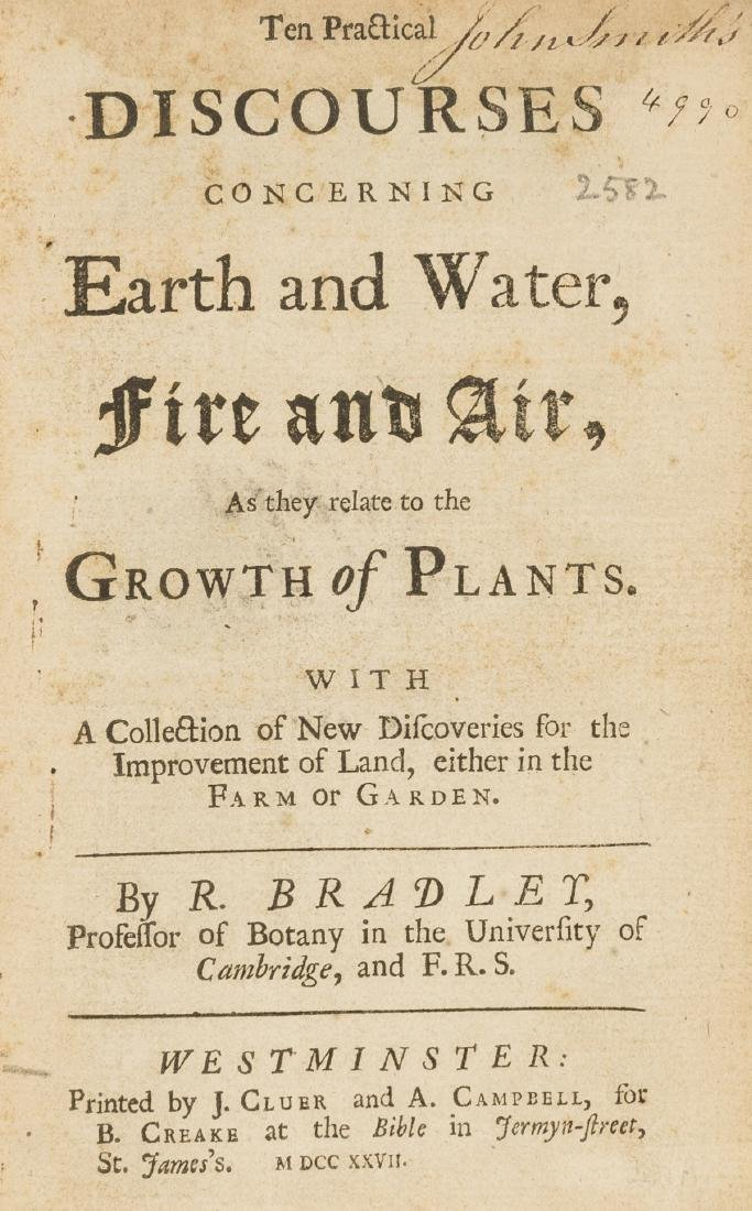 Bradley (Richard) Ten Practical Discourses concerning
