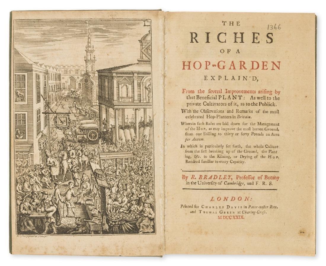 Hops.- Bradley (Richard) The Riches of a Hop-Garden