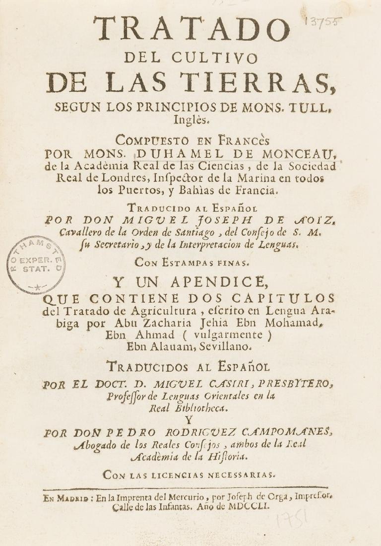 Duhamel du Monceau (Henri Louis) Tratado del Cultivo de