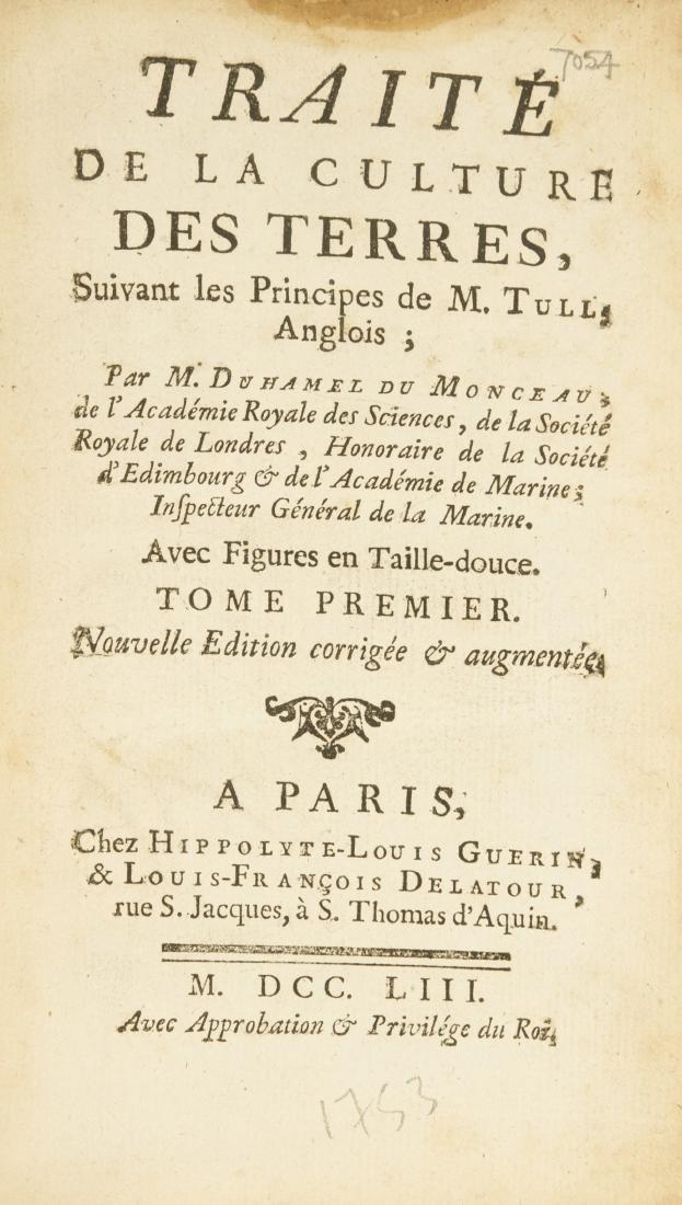 Duhamel du Monceau (Henri Louis) Traite de la Culture