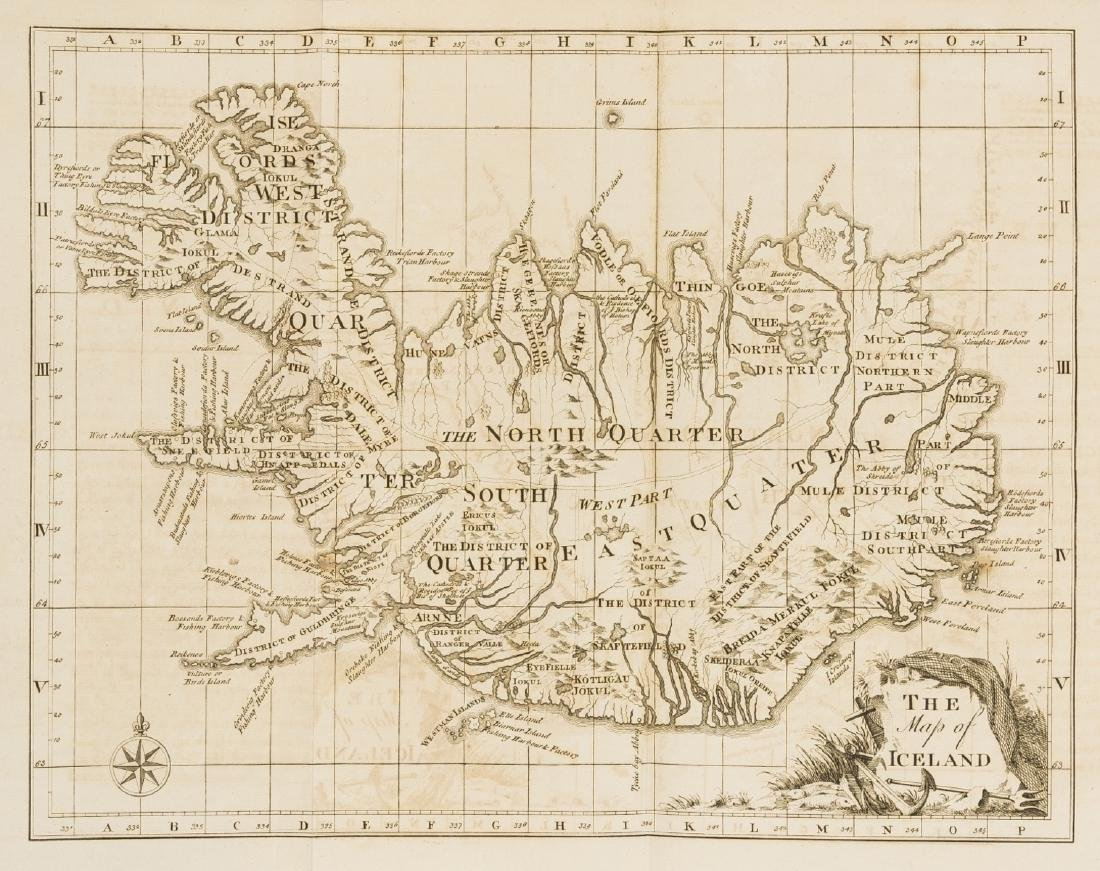 Iceland.- Horrebow (Niels) The Natural History of