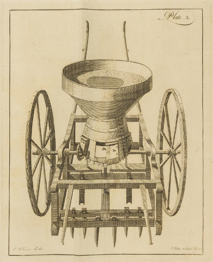Seed drill.- Randall (John) (Pursuant to the notice