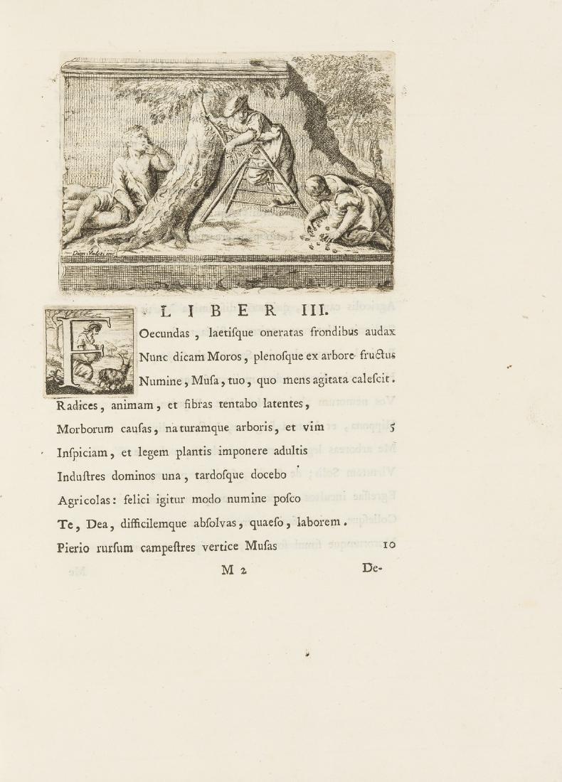 Miniscalchi (Luigi) Mororum libri III. Carminum liber,