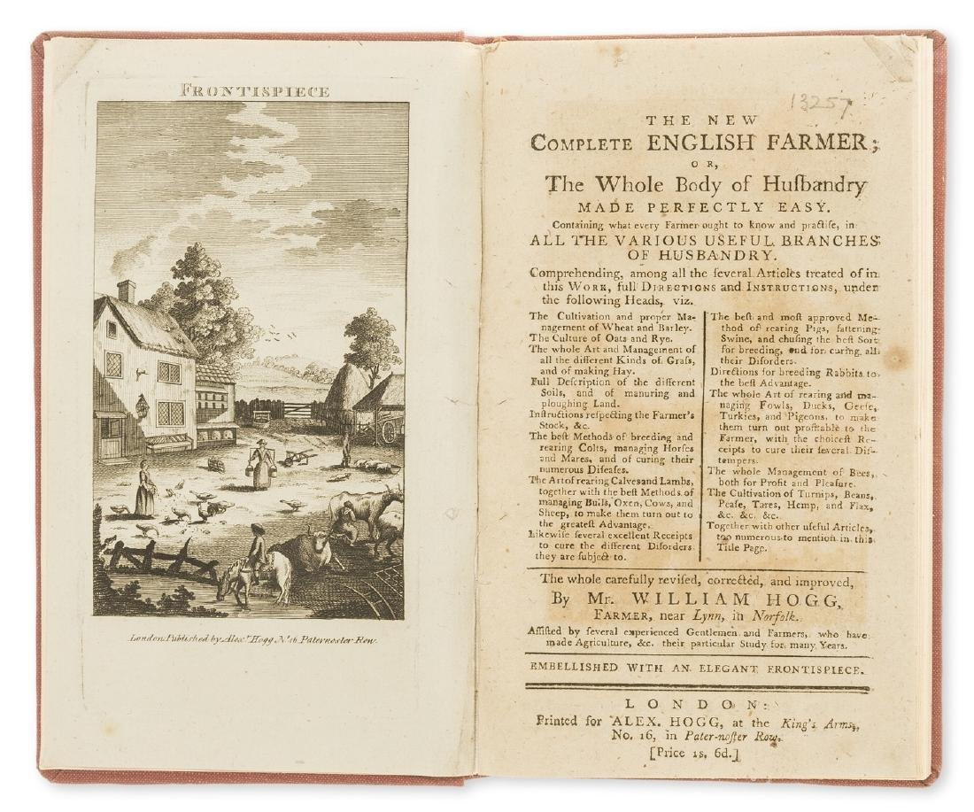 Hogg (William) The New Complete English Farmer; or, The