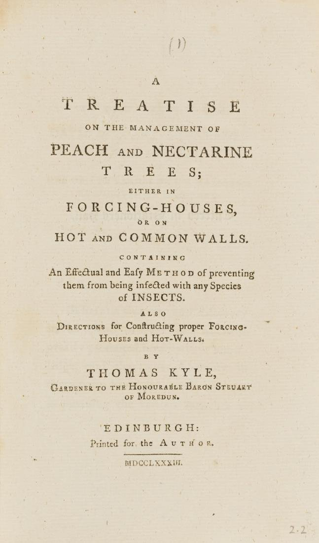 Pamphlets.- Kyle (Thomas) A Treatise on the Management