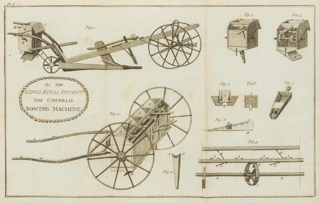 Seed drill.- Horn (John) The Description and Use of the