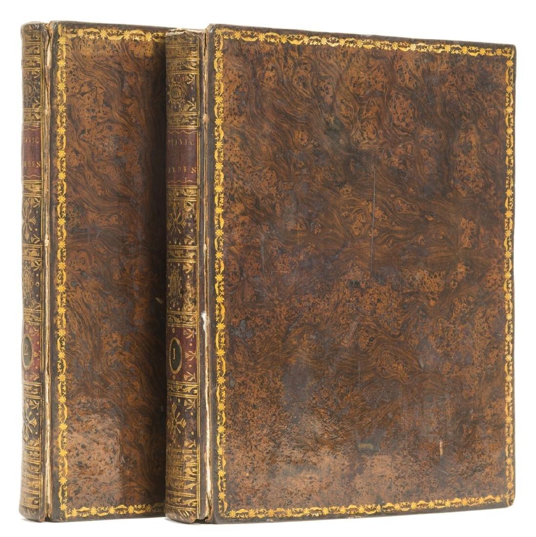 Darwin (Erasmus) The Botanic Garden, 2 vol., first