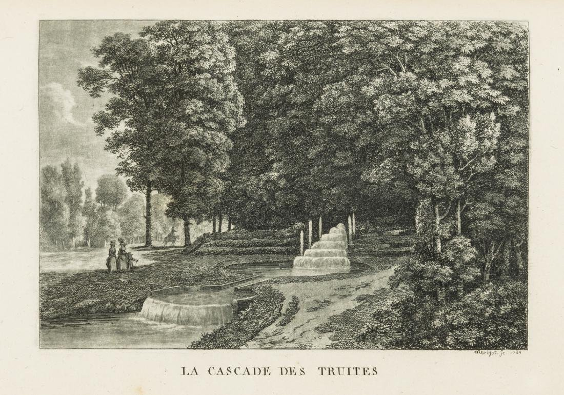 Gardens.- [Girardin (Stanislas, Comte de)] Promenades
