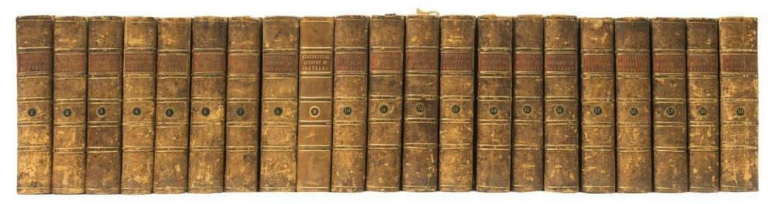 Scotland.- Sinclair (Sir John) The Statistical Account
