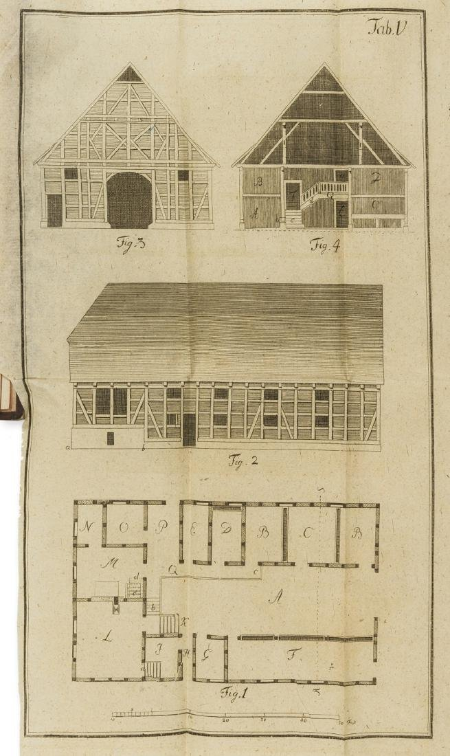 Farm Buildings.- Borheck (Georg Heinrich) Entwurf einer